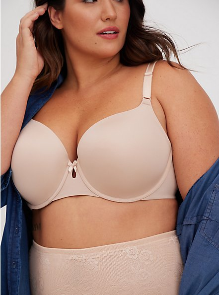 Nude 360° Back Smoothing™ Lightly Lined T-Shirt Bra, ROSE DUST, alternate