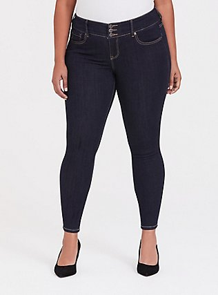 Jegging - Premium Stretch Dark Wash, SEVEN SEAS, hi-res