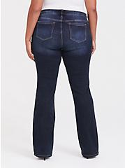 Plus Size Relaxed Boot Jean - Vintage Stretch Dark Wash, BAYOU, alternate