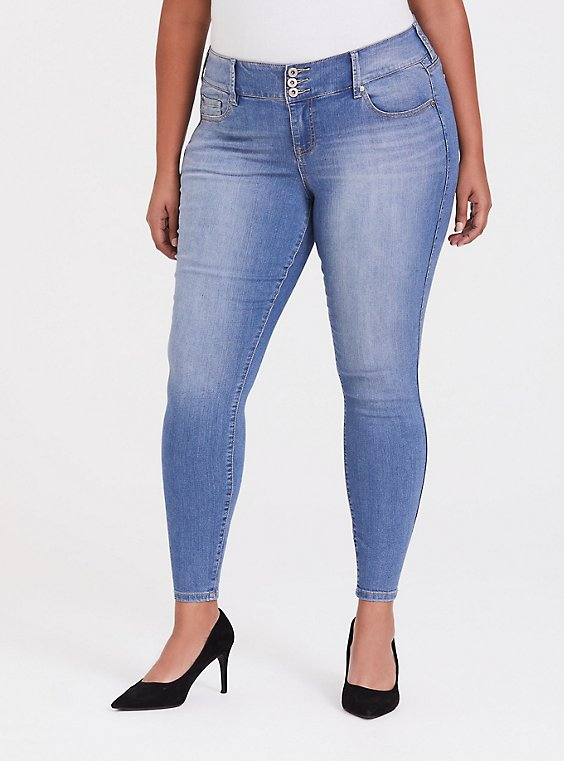 Jegging - Super Stretch Light Wash, , hi-res