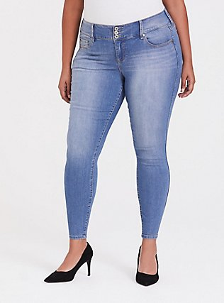 Jegging - Super Stretch Light Wash, GROUPIE, hi-res