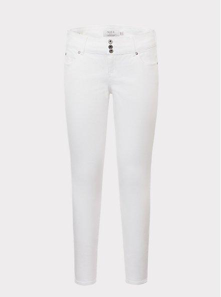 Jegging - Super Stretch White, WHITE, hi-res