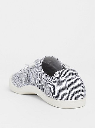 Plus Size Stripe Ruched Sneaker (WW), MULTI STRIPE, alternate
