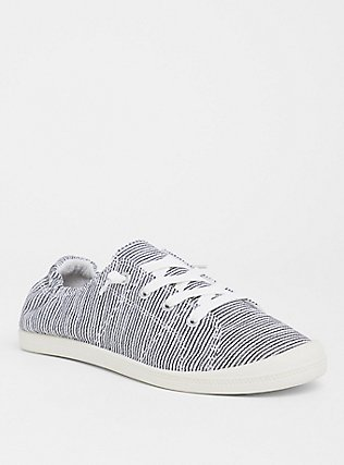 Plus Size Stripe Ruched Sneaker (WW), MULTI STRIPE, hi-res