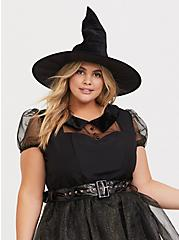 Plus Size Leg Avenue Darling Spell Caster Halloween Costume, BLACK, alternate