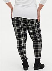 Premium Legging - Plaid Black, LOVELY PLAID, alternate