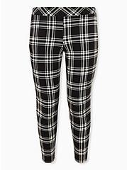 Premium Legging - Plaid Black, LOVELY PLAID, hi-res