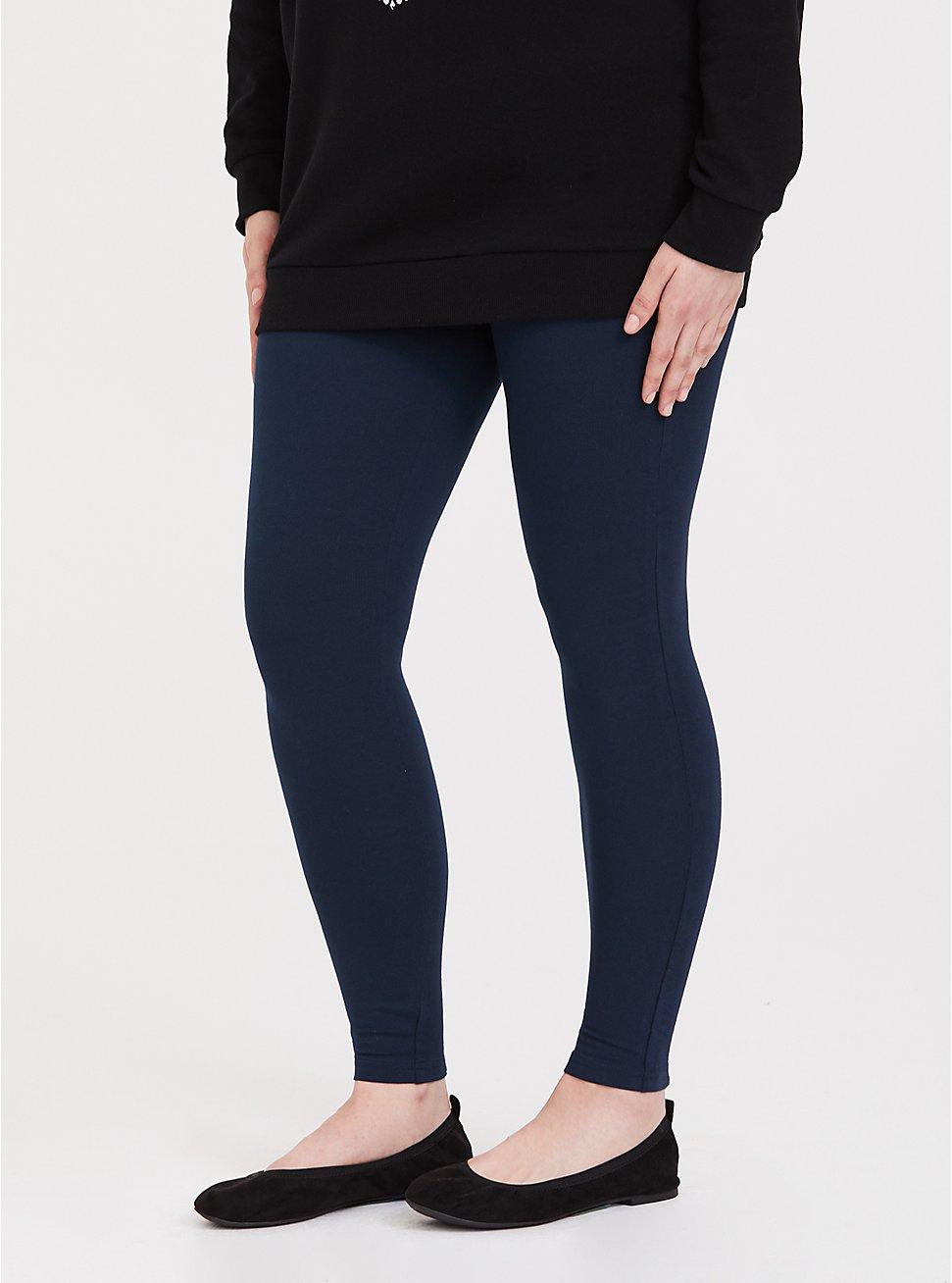Premium Legging - Blue, VIVID BLUE, hi-res