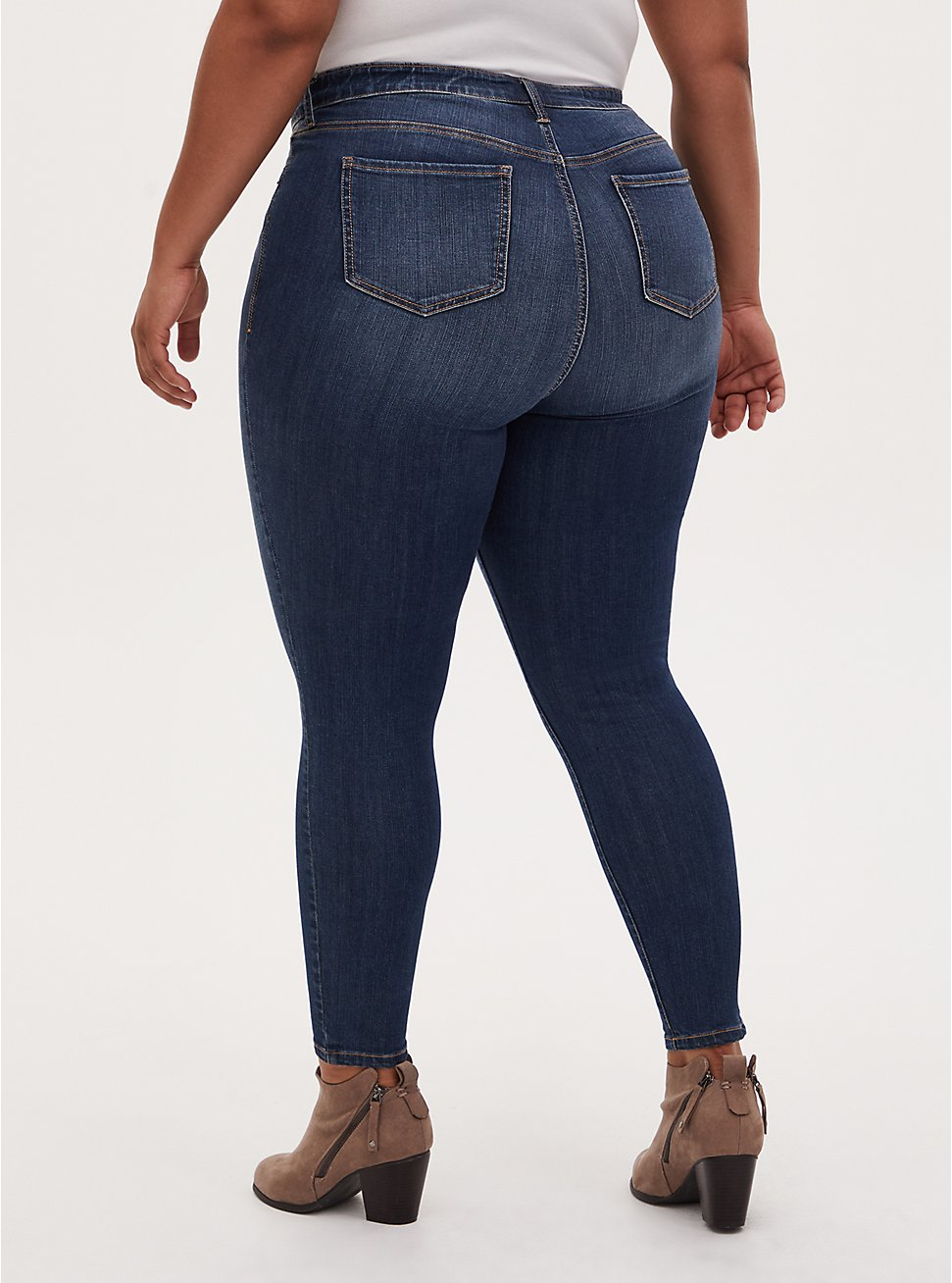 Sky High Skinny Jean - Premium Stretch Dark Wash, BLUE DREAM