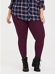 Premium Legging - Burgundy Purple, HIGHLAND THISTLE, hi-res