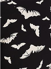 Premium Legging - Bat Print Black & White, MULTI, alternate