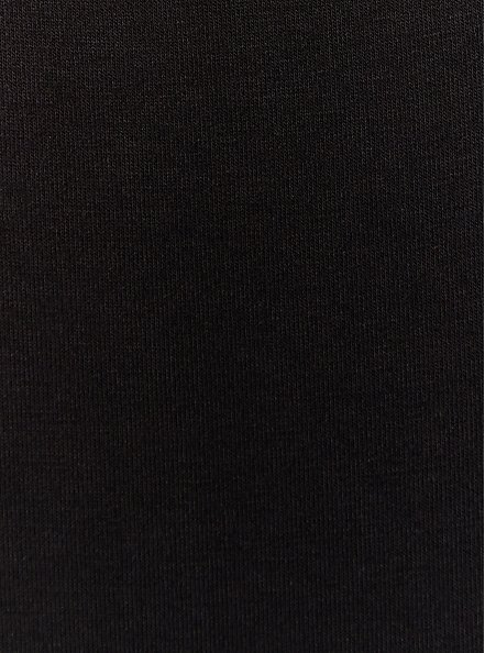 Super Soft Black Scoop Neck Layering Tank, DEEP BLACK, alternate