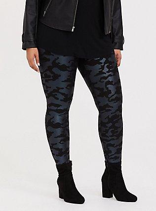 Premium Legging - Camo Metallic Black, MULTI, alternate