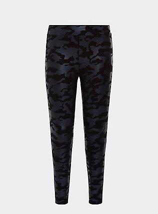 Premium Legging - Camo Metallic Black, MULTI, flat