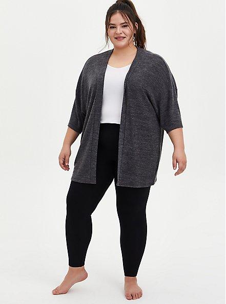 Platinum Legging - Fleece Lined Black, BLACK, alternate