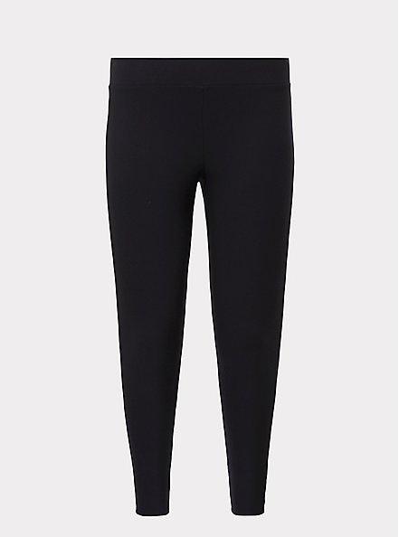 Platinum Legging - Fleece Lined Black, BLACK, hi-res