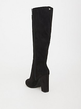 Circus by Sam Edelman Black Faux Knee-High Boot (Wide Width & Wide Calf), BLACK, alternate