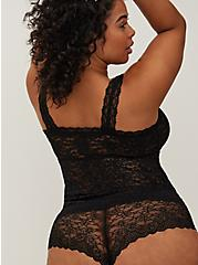 Black Lace Brami Bralette, RICH BLACK, alternate