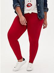 Premium Legging - Red, RED, alternate