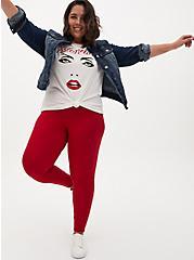 Premium Legging - Red, RED, hi-res
