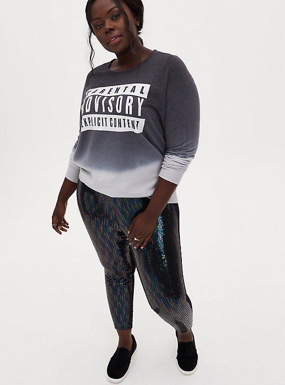 Platinum Legging – Multi Sequin Black, , hi-res