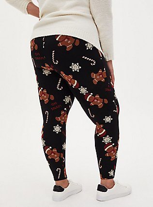 Plus Size Premium Legging - Gingerbread Black, MULTI, alternate