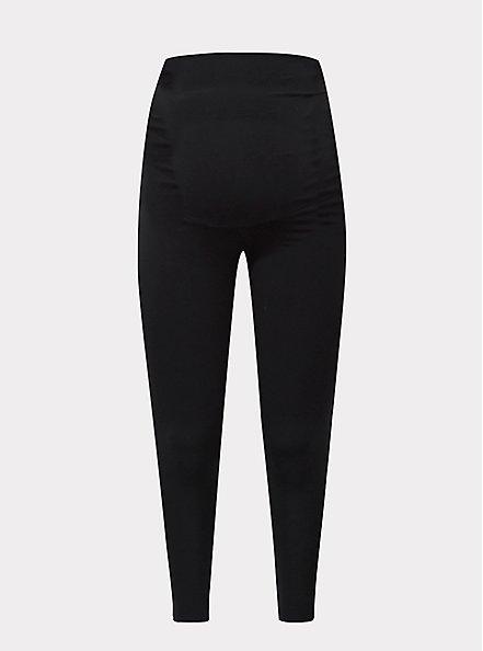 Maternity Premium Legging - Black, BLACK, hi-res