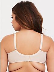 Nude Microfiber Lightly Lined T-Shirt Bra, ROSE DUST, alternate