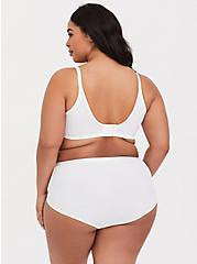 White 360° Back Smoothing™ Lightly Lined Full Coverage Bra, BRIGHT WHITE, alternate