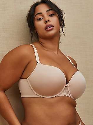 Nude Microfiber 360° Back Smoothing™ Push-Up T-Shirt Bra, ROSE DUST, pdped
