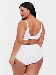 White Microfiber 360° Back Smoothing™ Push-Up T-Shirt Bra, BRIGHT WHITE, alternate