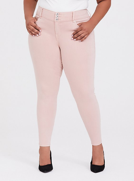 Jegging - Super Stretch Blush Pink, , hi-res