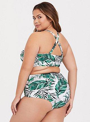 White Palm Wireless Triangle Bikini Top, MULTI, alternate