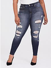 Sky High Skinny Jean - Premium Stretch Medium Wash, BLUE SPELL, hi-res