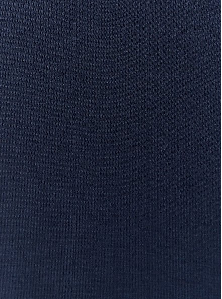 Plus Size Super Soft Navy Blue Favorite Tunic Tee, VIVID BLUE, alternate