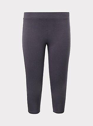 Capri Premium Legging - Dark Grey, GREY, flat