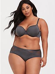 Dark Grey 360° Back Smoothing™ Lightly Lined Full Coverage Bra, MAGNET, alternate
