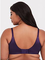 Dark Purple 360° Back Smoothing™ Lightly Lined T-Shirt Bra, BLACKBERRY CORDIAL, alternate
