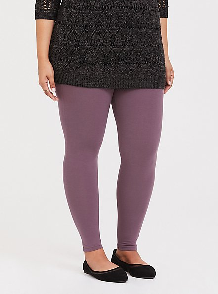 Premium Legging - Mauve Purple, TAN/BEIGE, alternate