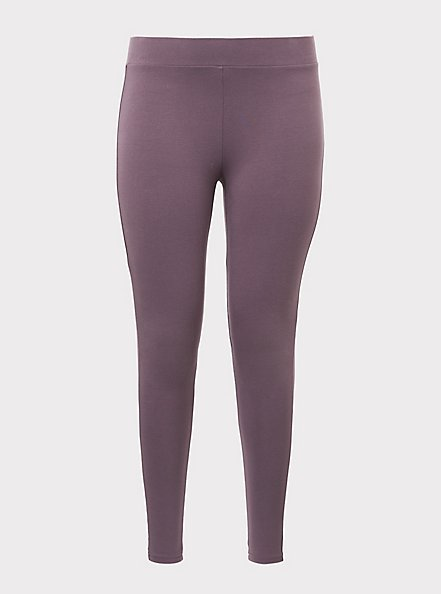Premium Legging - Mauve Purple, TAN/BEIGE, hi-res