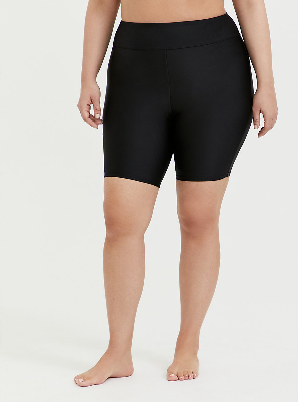 Black Swim Bike Short, DEEP BLACK, hi-res