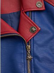Her Universe Captain Marvel Moto Jacket, MULTI, alternate