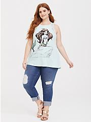 Her Universe Disney The Little Mermaid Ariel Super Soft Mint Green Tank, AQUA, alternate