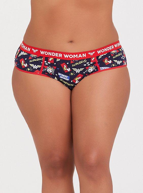 DC Comics Wonder Woman Cotton Hipster Panty, , hi-res