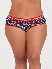 DC Comics Wonder Woman Cotton Hipster Panty, MULTI, hi-res