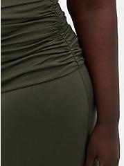 Olive Jersey Maxi Dress, DEEP DEPTHS, alternate