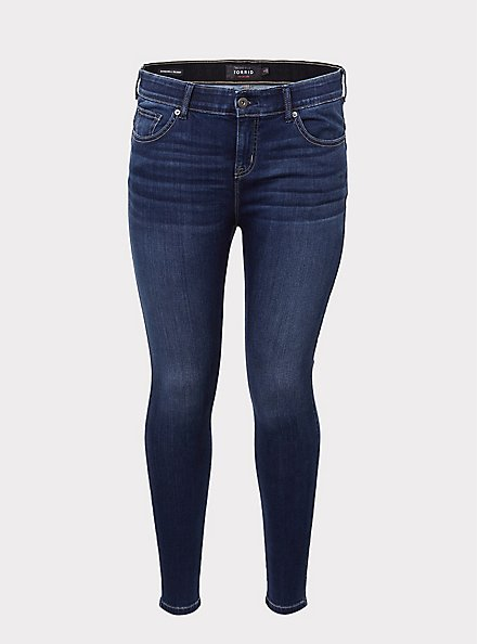 Bombshell Skinny Jean - Super Soft Stretch Light Wash, ABYSS, hi-res
