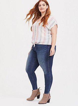 Plus Size Sky High Skinny Jean - Super Soft Medium Wash, COOL BREEZE, alternate