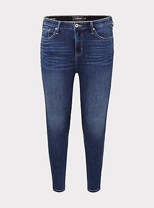 Sky High Skinny Jean - Super Soft Medium Wash, COOL BREEZE, flat