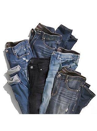 Plus Size Sky High Skinny Jean - Super Soft Light Wash, MEDIUM BLUE WASH, alternate